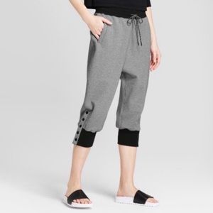 Hunter for Target Ankle Snap Drop Crotch Joggers